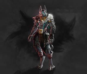 Wolf Tribal Warrior