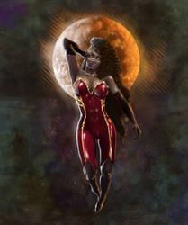 Odina - The Bronze Moon by DougReverie