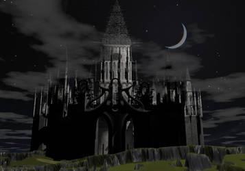 Lunar Castle by dukie523
