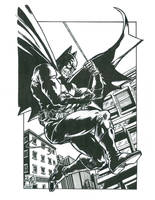 RougeDK's Batman Inked by FanBoy67