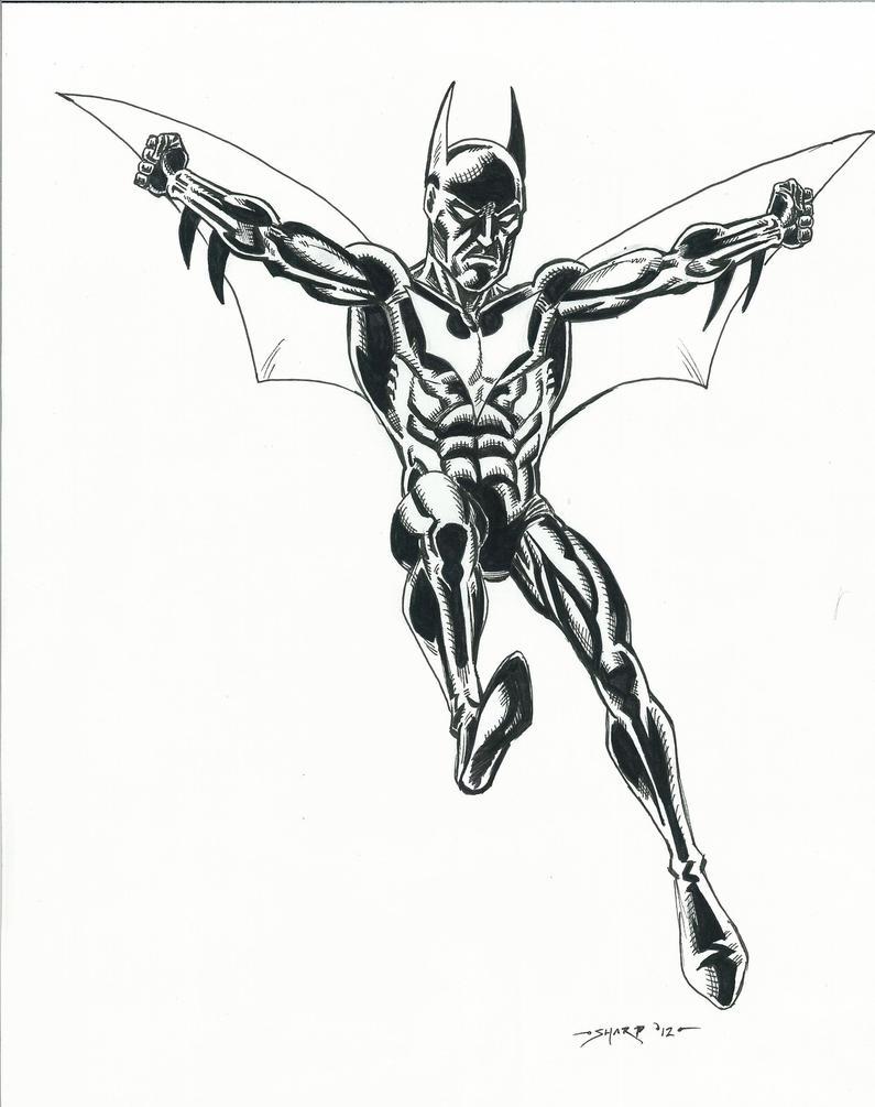 BATMAN BEYOND SKETCH By FanBoy67 On DeviantArt