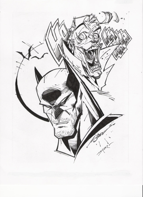 STEVEN SANCHEZu0026#39;S BATMAN-JOKER INKS By FanBoy67 On DeviantArt