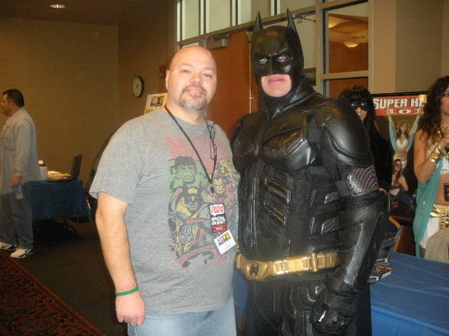BATMAN AND ME AT AKRON COMICON 2012 by FanBoy67