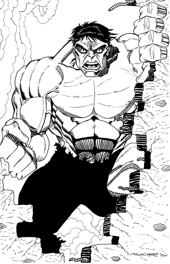 HULK COMMISSION by FanBoy67