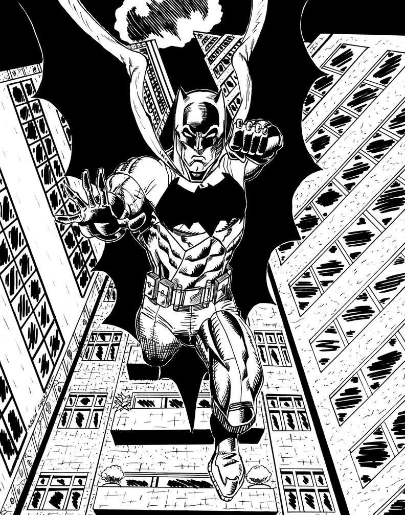 BATMAN COMMISSION by FanBoy67