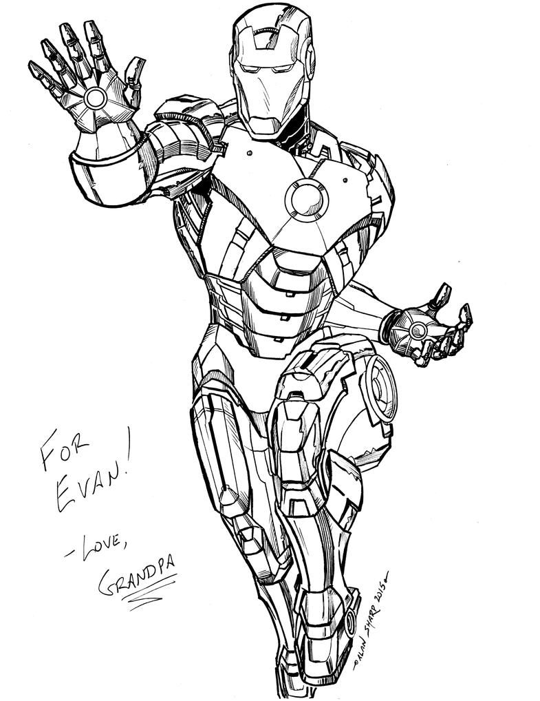 IRON MAN FOR EVAN by FanBoy67