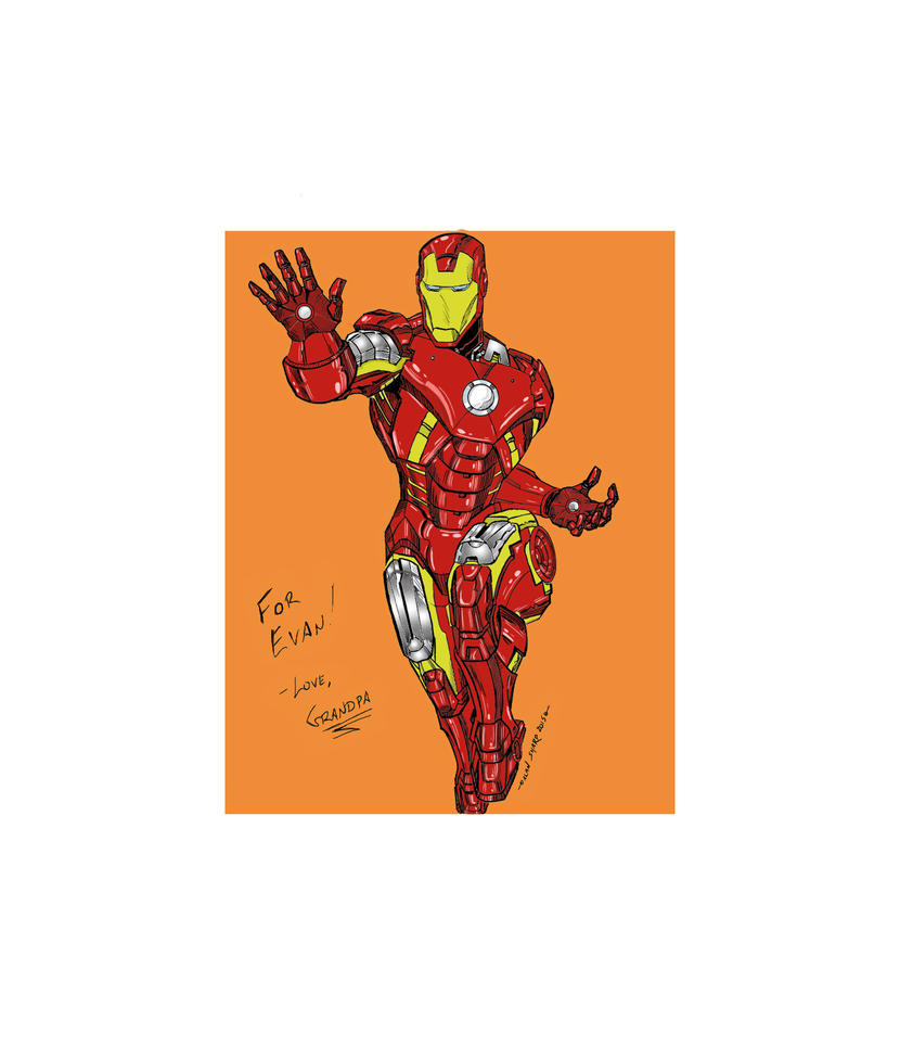 IRON MAN FOR EVAN COLORS by FanBoy67