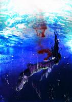 ::Tales of vesperia:Drowning:: by JoshuaTheAsmodian