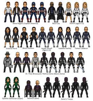 Captain America - Return of Zemo
