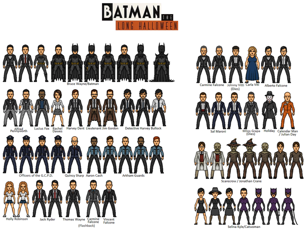 Batman - Long Halloween Part 1 Nothing to Fear by dudebrah on ...