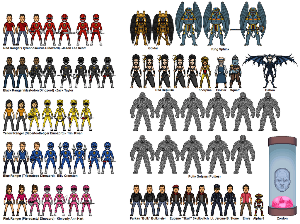 Mighty Morphin Power Rangers - A Pressing Engageme by dudebrah