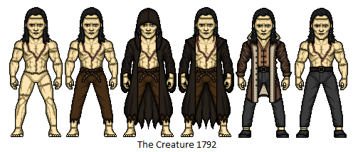 The creature by dudebrah