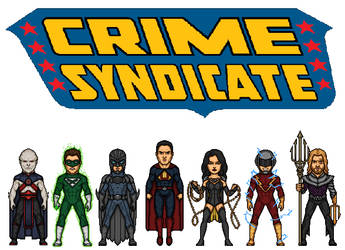 Crime Syndicate by dudebrah