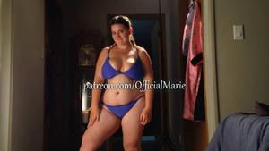 Mediterranean Blue Evening Bikini