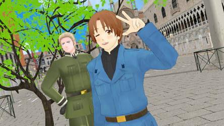 Hetalia webcomic cover