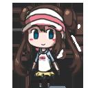 Pokemon B2W2 - girl trainer Shimeji WIP by Mayu-Hikaru