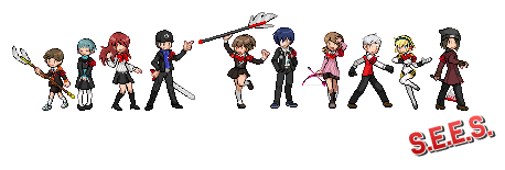 Persona 3 - Sprites by Mayu-Hikaru