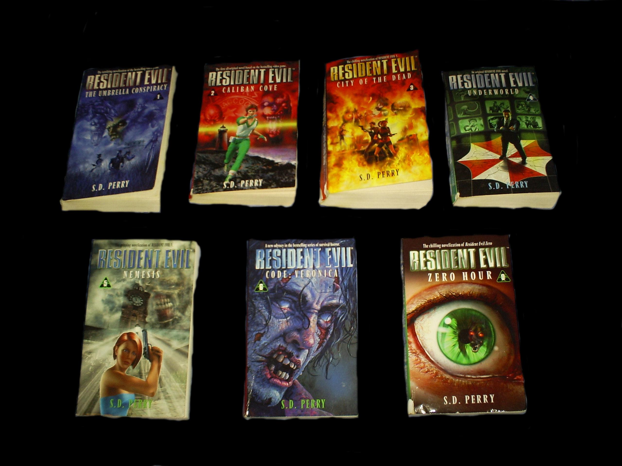 Libros] Resident Evil Novels | S.D.Perry | PDF | MEGA - Taringa!