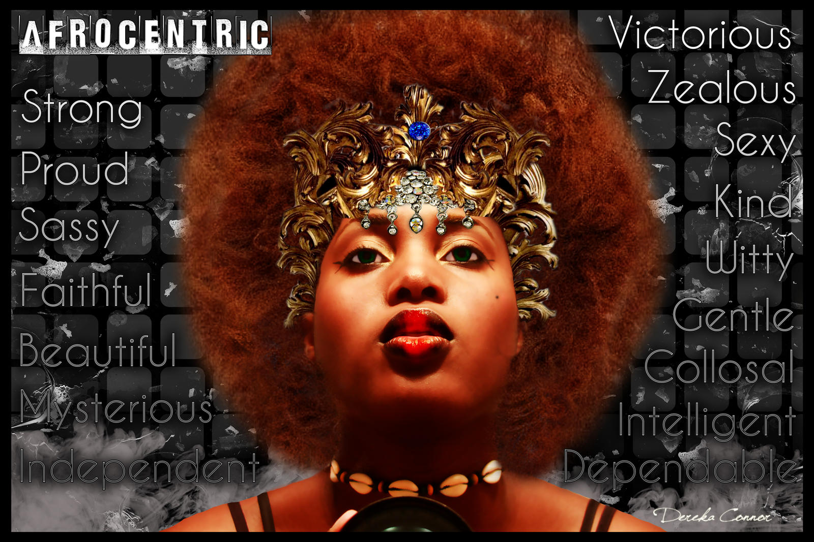Afrocentric by Akered-Ronnoc on DeviantArt: akered-ronnoc.deviantart.com/art/Afrocentric-209461303