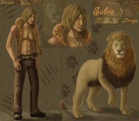 Subra - Werelion by Venty-chan