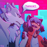 [FanArt] BNA - Tanuki!
