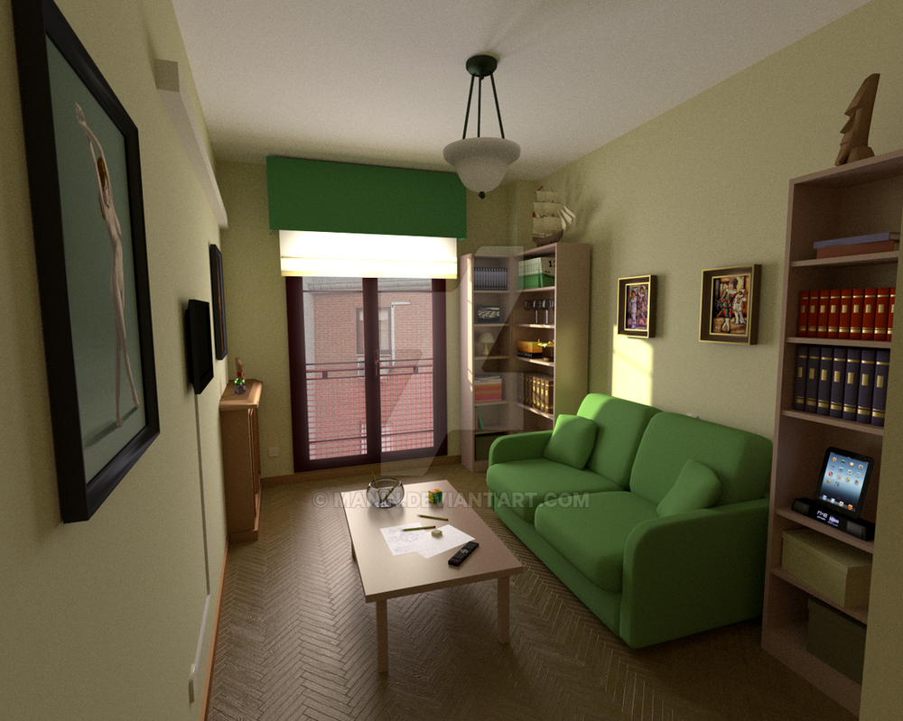 The Green Room by Manin