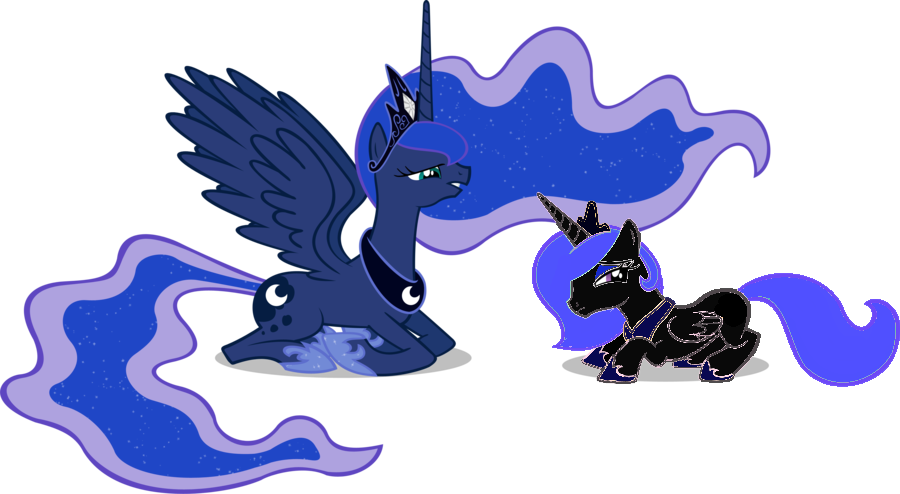 Luna And Her Daughter By BlackDragon Studios On DeviantArt