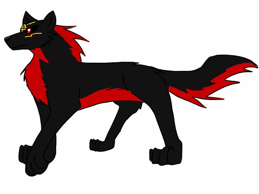 Atem the desert wolf king by BlackDragon-Studios