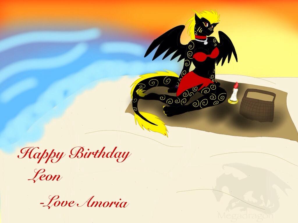 Happy Birthday Leon 2014 by ShardianofWhiteFire