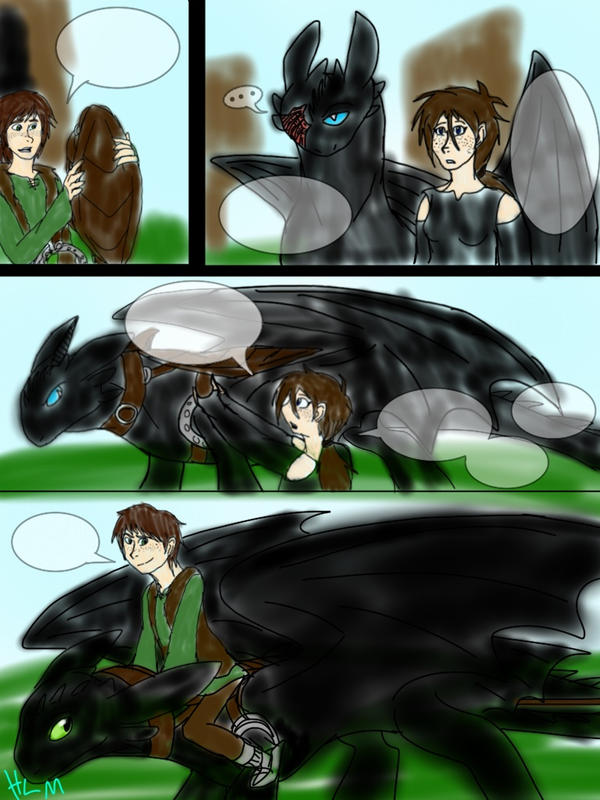 how to train your dragon comic porn