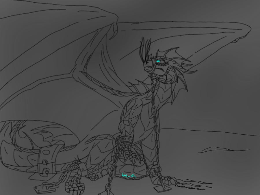 The Dragon in Our Midst-Bound and Chained -WIP- by ShardianofWhiteFire