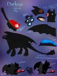 Reference Sheet: Darkrai the Night Fury