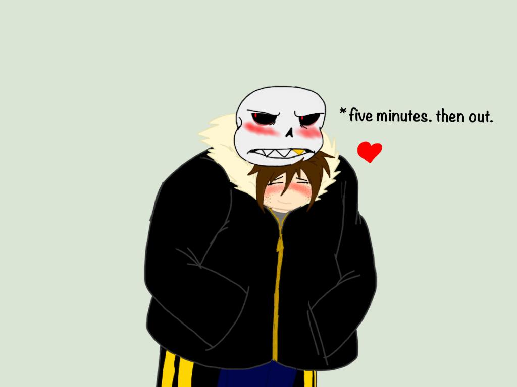 Undertale Underfell Five Minutes By Blackdragon Studios On