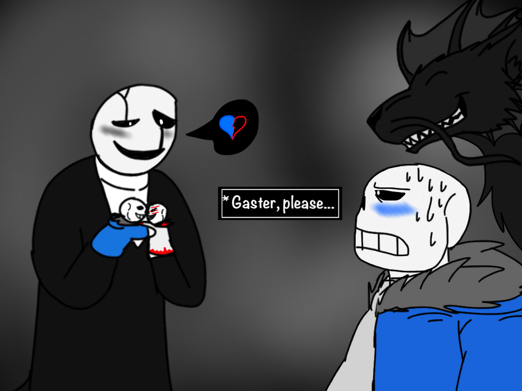 Undertale AU: p2-Gaster Ships It by BlackDragon-Studios on DeviantArt