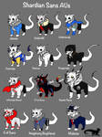 Undertale AU: Shardiantale-All of the Snas!