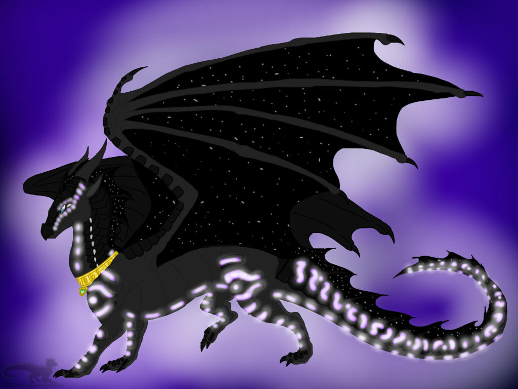 Wings Of Fire Shadowsneak The Sea Nightwing By Blackdragon Studios On Deviantart