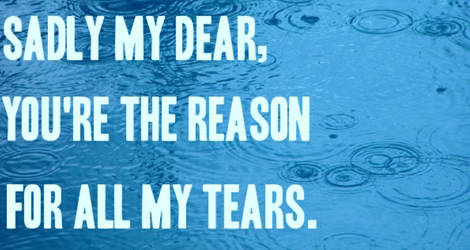 The sad, sad reason...