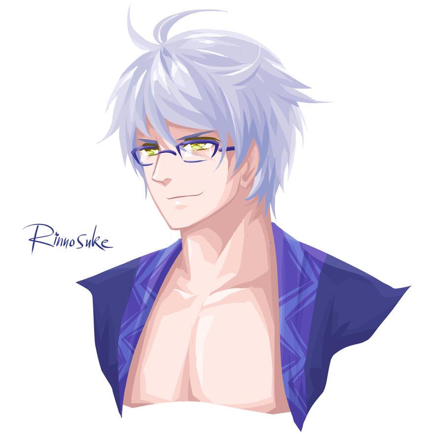 Touhou - Rinnosuke by Paddy-F
