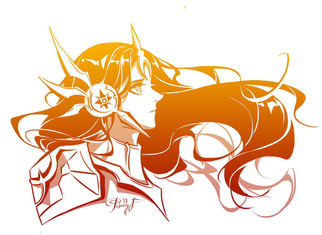 League of Legends - Leona by Paddy-F