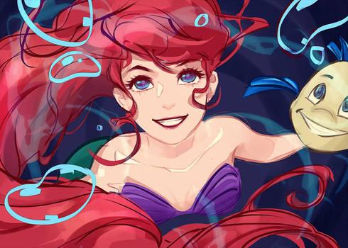 Sketch - The little mermaid