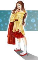 Modern Kimono by utenaxchan
