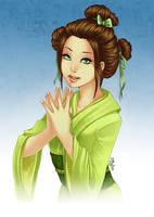 Commission : Suzuhashi Yumi by utenaxchan