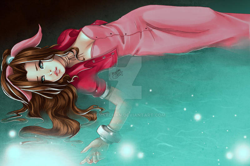 Aerith : The Loner of Midgar by utenaxchan