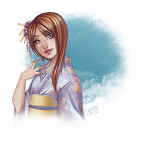 Commission : Henmi Kaori by utenaxchan