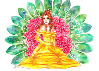 Disney Princesses: Belle by utenaxchan