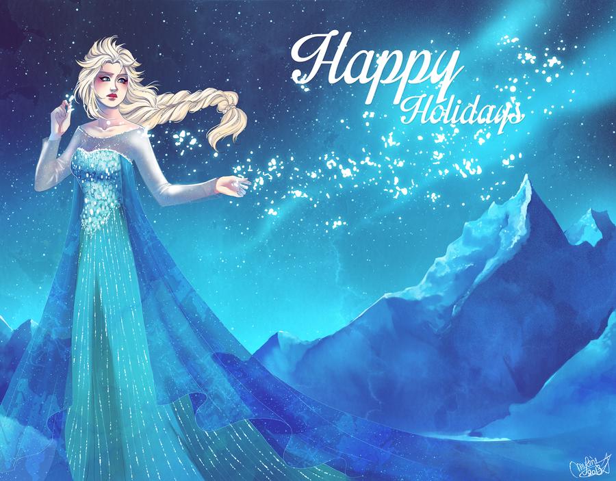 Happy Frozen Holidays 2013 by utenaxchan
