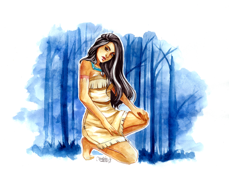 Pocahontas by utenaxchan
