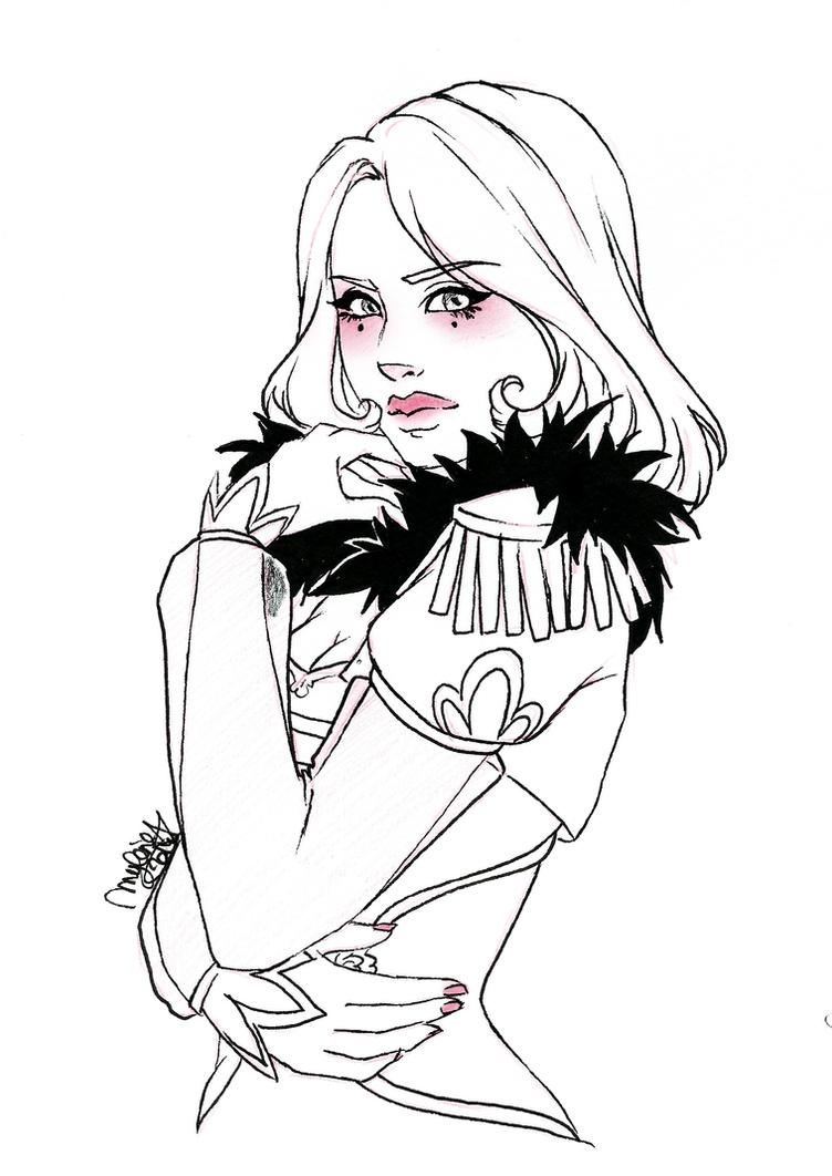 Scarlett BW by utenaxchan