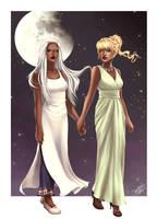 Ossiona and Beone for Feliane by utenaxchan