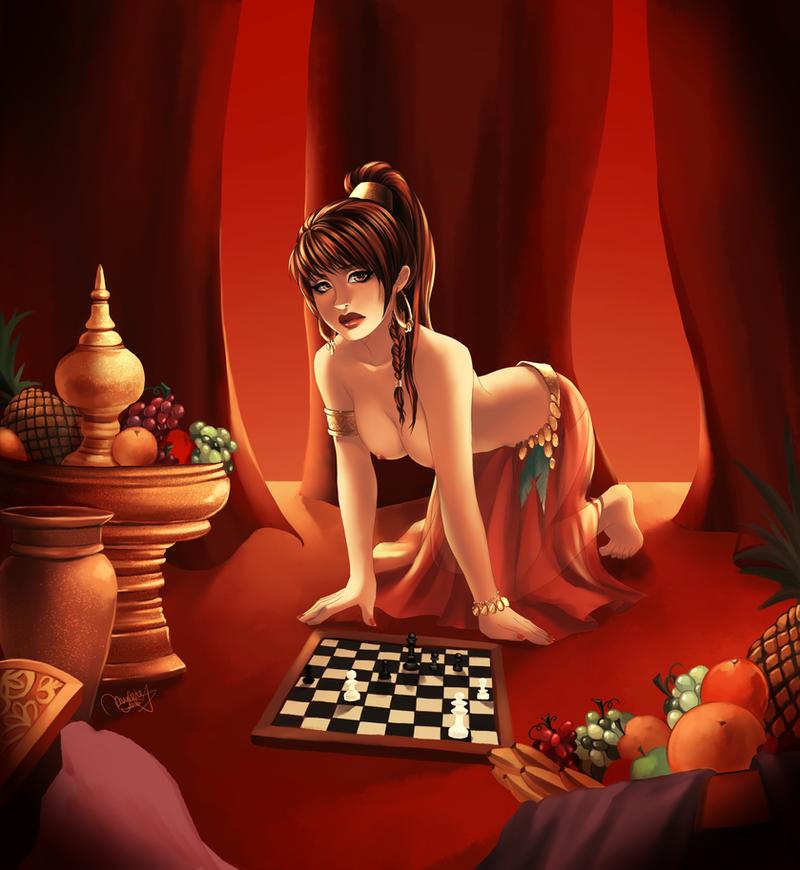 Chess by utenaxchan